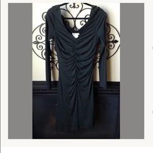 RENE LEZARD 38 8 cashmere blend hunter dress